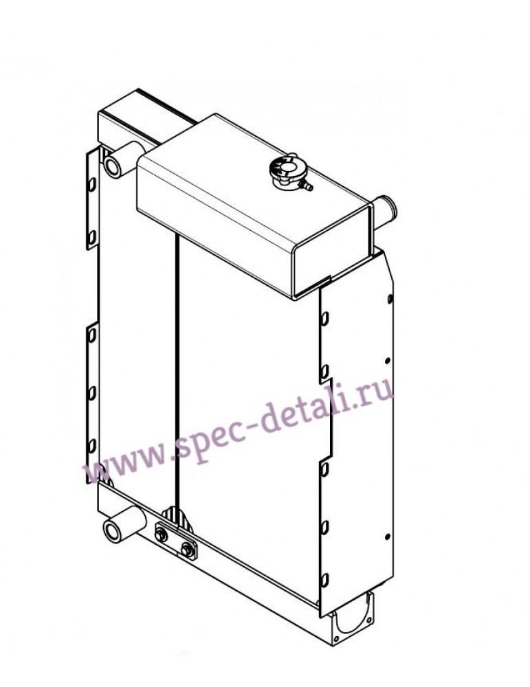 Радиатор в сборе (вода) + (масло) Manitou 243030